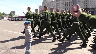 Воинское приветствие маленькому патриоту! Парад Победы
