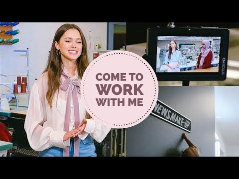 Come To Work With Me Vlog   BTS With ET Canada