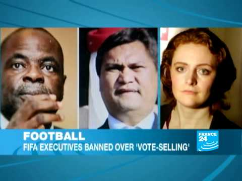 FIFA suspend and fine two members over 'vote selling'