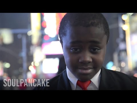 Kid President says THANK YOU after