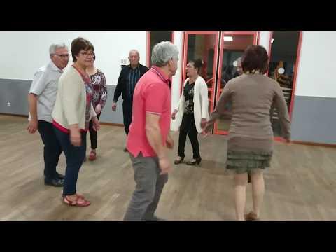 Bourrée de chambérat (de Vierzon ) dansée à Lombers 81 vidéo 2