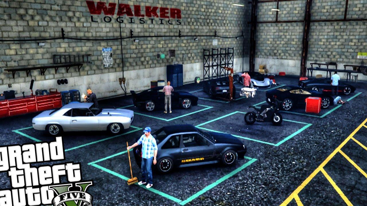 Illegal Custom Car Shop Garage GTA PC MOD YouTube - Carshop