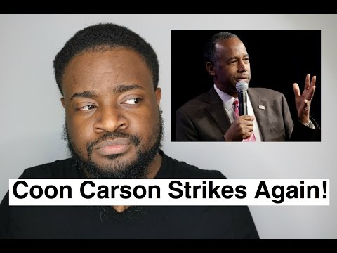 Ben Carson Thinks Slaves Were Immigrants