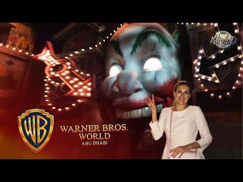 Warner Bros. World Abu Dhabi/All park rides(4K)