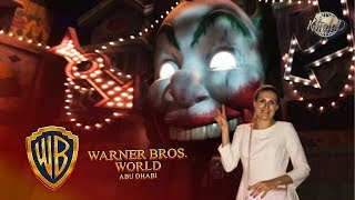 Warner Bros. World Abu Dhabi/All park rides(4K)