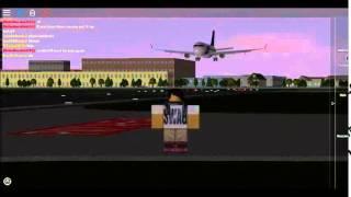 Roblox - Ein Ort mit Passagierflugzeugen - Landungen