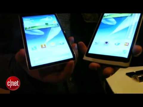 Samsung Galaxy Round Hands on