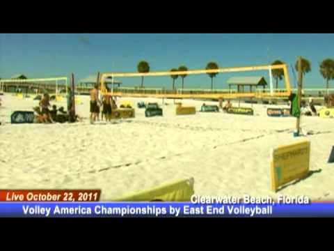 Tampa Live Sports Oct 22, 2011 Volley America Championships By East End Volleyball Mens Open Game 3