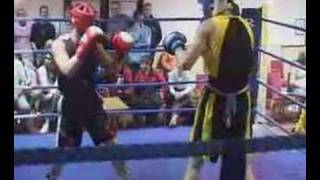 My First Uk Amateur Boxing Bout (im Red)