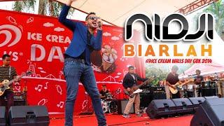 Nidji - Biarlah (Live Konser Wall's Ice Cream Day 2014 @GBK Senayan)