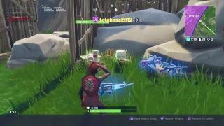 Fortnite live stream #44 / Season 5 game play