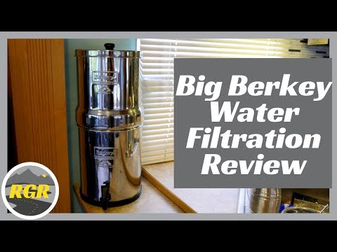 Big Berkey Water Filter | Product Review | Water Filtration System