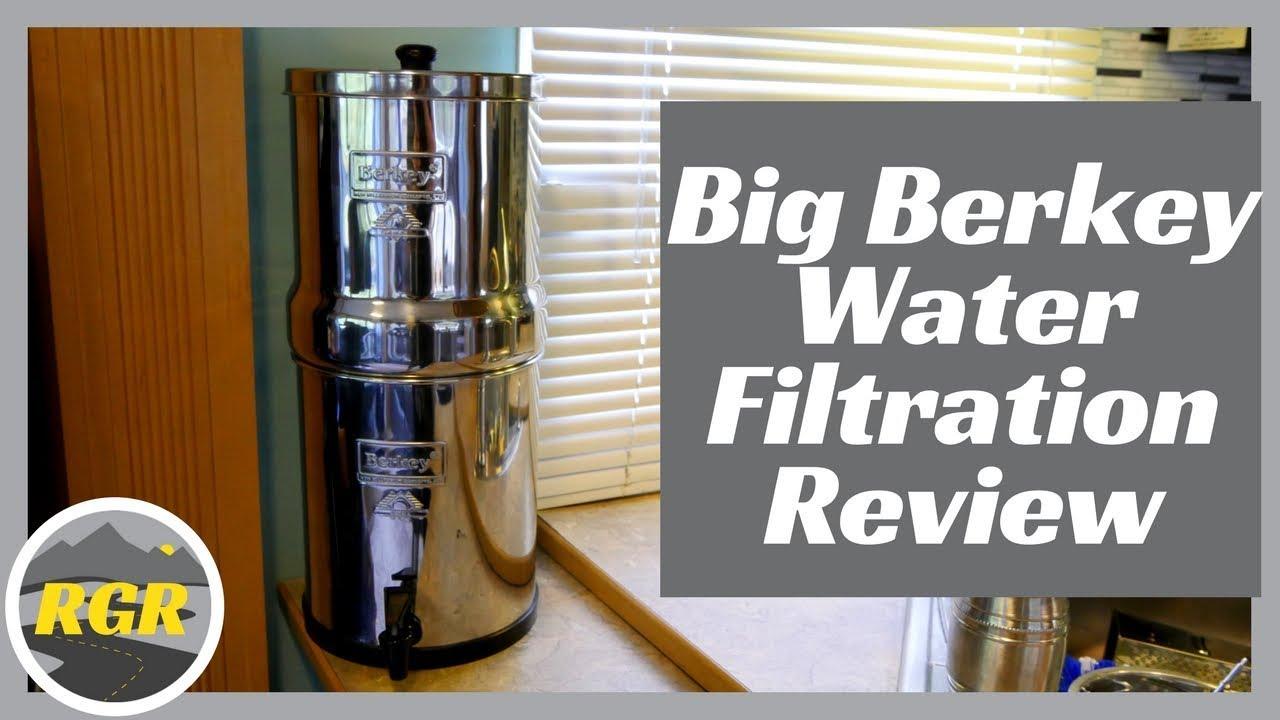 Big Berkey Water Filter Product Review Water