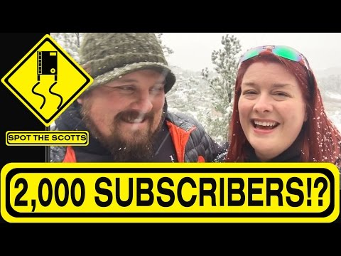 SpotTheScotts: TWO THOUSAND Subscribers& A Fan Letter!! ~ RV Life {#241}