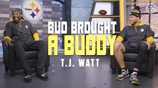 Bud Brought A Buddy: T.J. Watt | Pittsburgh Steelers