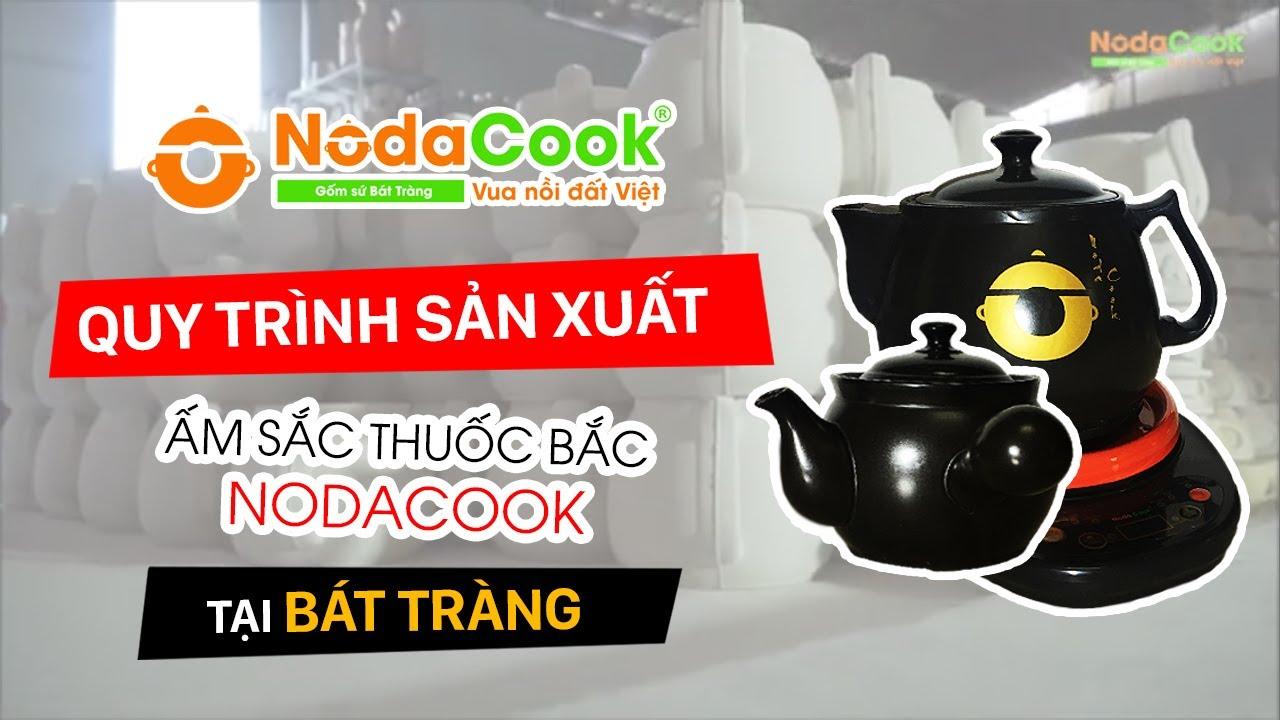 Ấm sắc thuốc bắc được làm thủ công tại Bát Tràng Việt Nam
