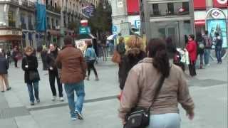 ИСПАНИЯ: Прогулка по Мадриду... Кармен... центр города... Испания Spain Madrid(Путешествие в Голливуд: ИСПАНИЯ Ответы на вопросы http://anzortv.com/forum Смотрите всё путешествие на моем блоге..., 2013-02-22T23:06:32.000Z)