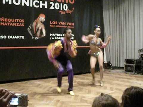Maykel Fonts y Kirenia Cantin - show Cubamemucho Munich 2009