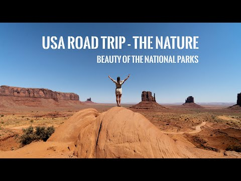 USA Road Trip - The Nature |  Cinematic Travel Video