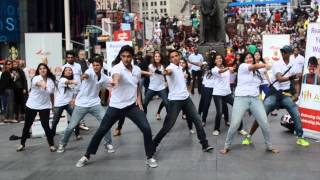 Diwali at Times Square Flash Mob