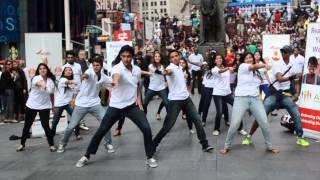 Diwali at Times Square Flash Mob