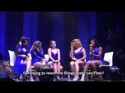Individual Covers- Fifth Harmony- Reflection Summer Tour (lyrics)