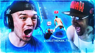 I STREAM SNIPED AN OLD HEAD & MADE HIM RAGE AFTER I MADE HIM FALL ON NBA 2K19!