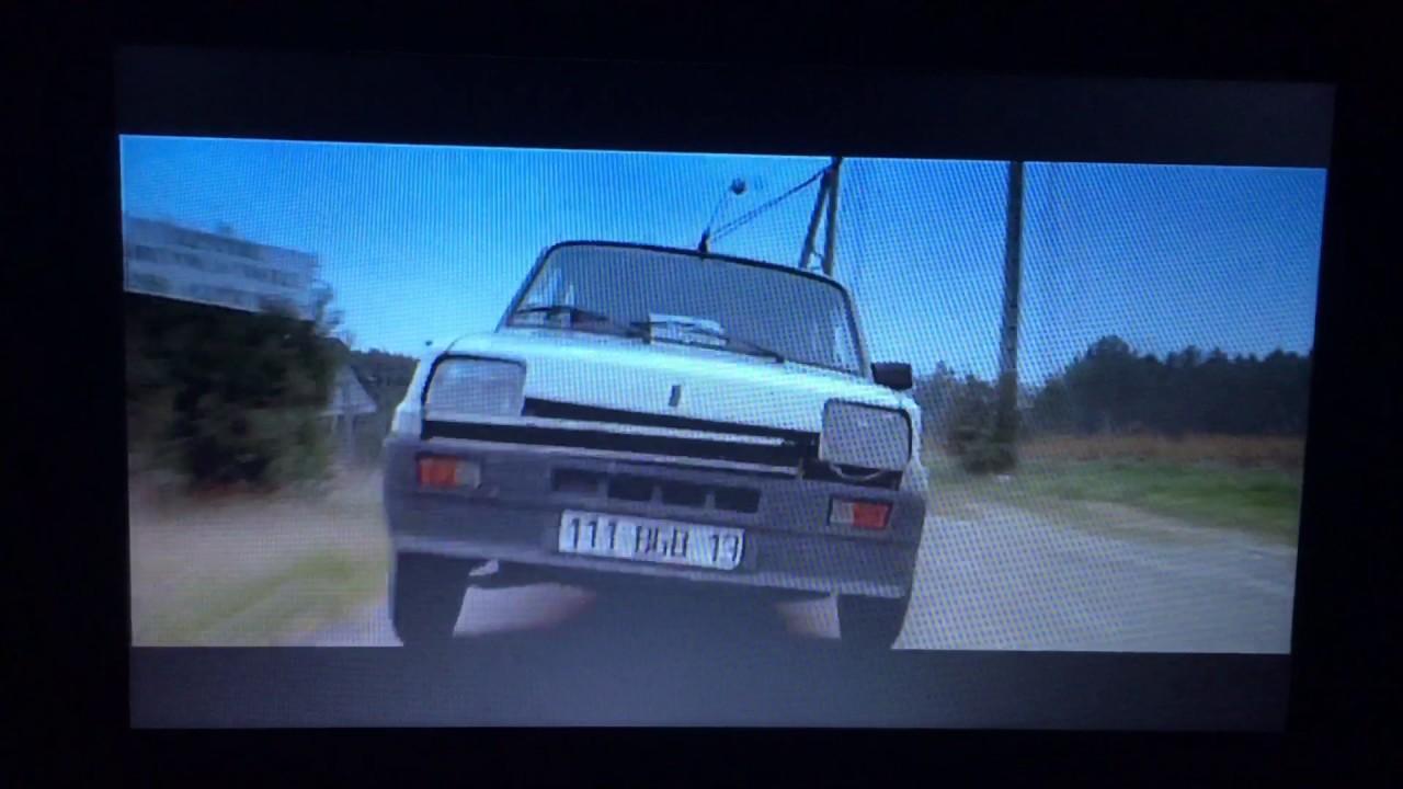The Transporter Renault R5 Scene