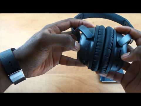 golzer banc 50 bluetooth active noise cancelling headphones unboxing and review youtube. Black Bedroom Furniture Sets. Home Design Ideas