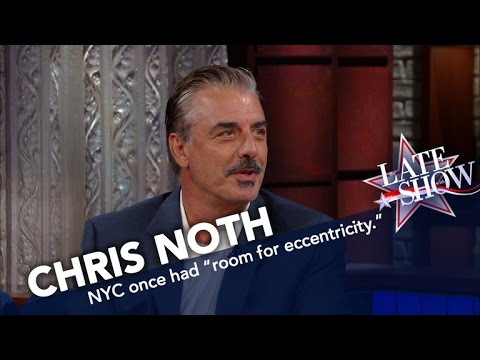 "Chris Noth on NYC: ""It's a Playground For the 1%"""