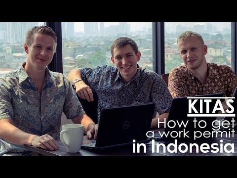 KITAS - How to get a work permit in Indonesia