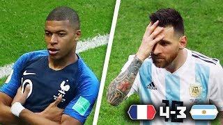 MBAPPE DESTROYS ARGENTINA!   FRANCE 4-3 ARGENTINA WORLD CUP MATCH REACTION