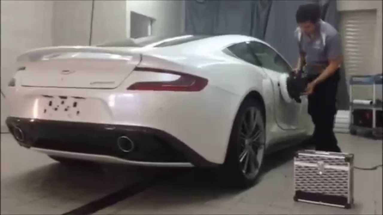 Transparency Qatar Aston Martin Vanquish Paint Protection By Protech