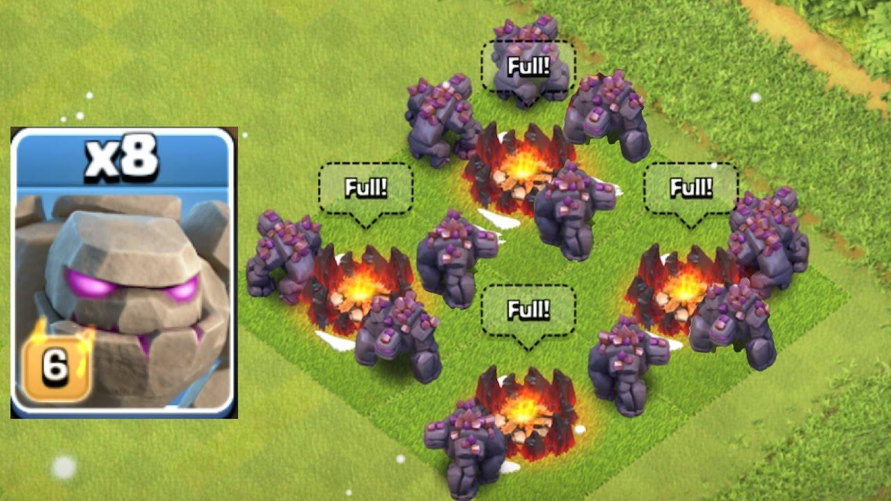 clash-of-clans-golem-levels