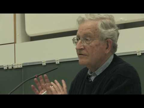 "Stiftungsprofessur 2010: Noam Chomsky – ""Poverty of Stimulus"" (24.03.2010)"