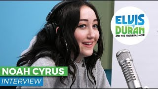 Noah Cyrus Chats About Stage Fright, Collaborating and Family | Elvis Duran Show