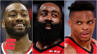 How should Harden feel about the Rockets trading Westbrook to the Wizards for John Wall?   KJZ
