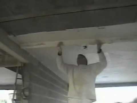 renovies services comment enduire un plafond de 25m doovi. Black Bedroom Furniture Sets. Home Design Ideas