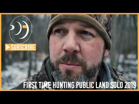 Hunting Public Land Solo Michigan Deer Hunting 2019