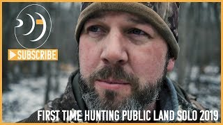 Hunting Public Land Solo Michigan Deer Hunting 2019