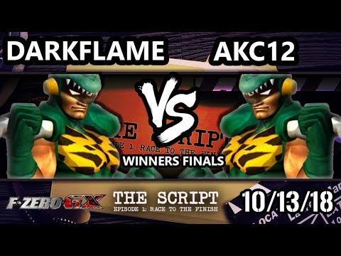The Script -  Darkflame Vs.  AKC12 - F-Zero GX Winners Finals