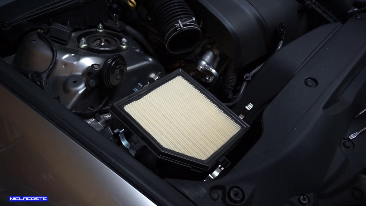how to replace engine air filter lexus is250 is350 2014 2015 2016 [ 1280 x 720 Pixel ]