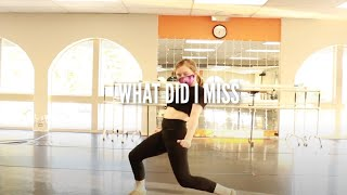 WHAT DID I MISS | INT MUSICAL THEATRE | NATALIE COPELAND CHOREO | INMOTION PERFORMING ARTS STUDIO