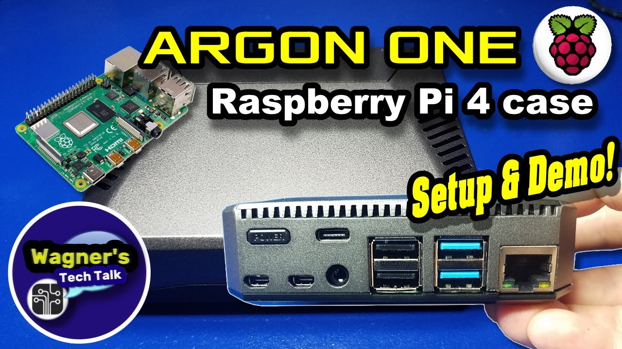 Argon One Raspberry Pi 4 Case Setup - Best Pi 4 Case I've used!
