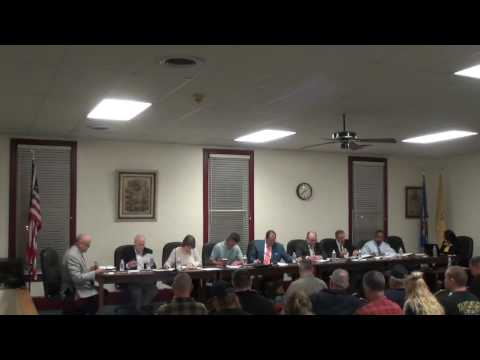 3 27 2017 Tabernacle Township Meeting