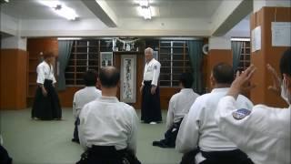 石垣師範の今月の技(2017年4月):正面打ち一教