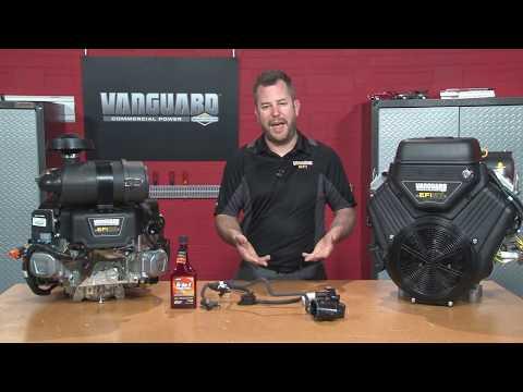 How to Winterize an EFI Engine- Vanguard Engines - YouTube