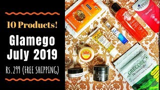 Glamego July 2019 @299 | 10 PRODUCTS | Unboxing & Review