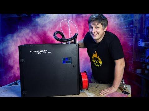 🔥 Новый помощник в мастерской. Лучший 3D-принтер за свою цену. Flying Bear Tornado 2 Pro
