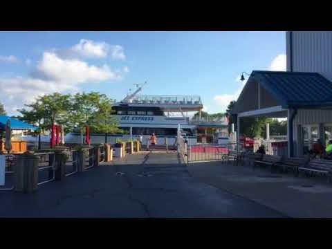 Jet express marina in Port Clinton Ohio